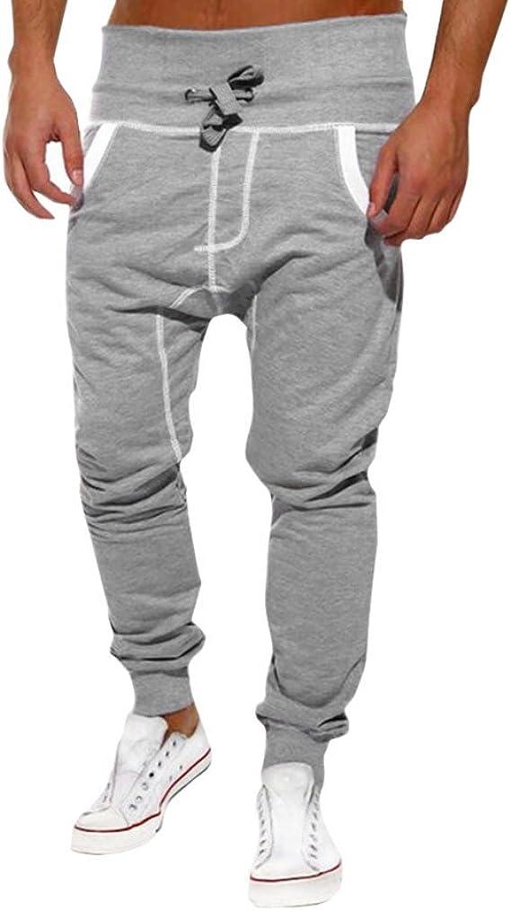 Moda Pantalones Deportivos Hombre Casuales Chándal de Pantalones ...