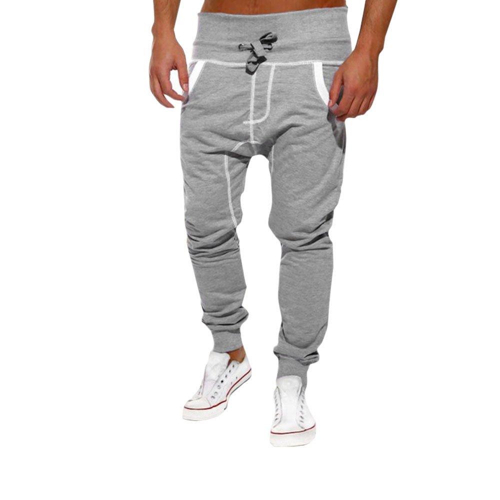 Uomini Pantaloni,Yesmile Pantaloni da Uomo Ad Asciugatura Rapida, per L'Estate, Sottili E Traspiranti, Uomo per L' Estate