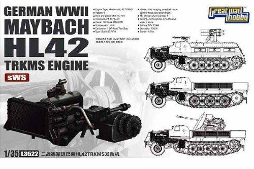ピットロード グレートウォールホビー 1/35 独 マイバッハ HL42TRKMSエンジン sWS用 L3522