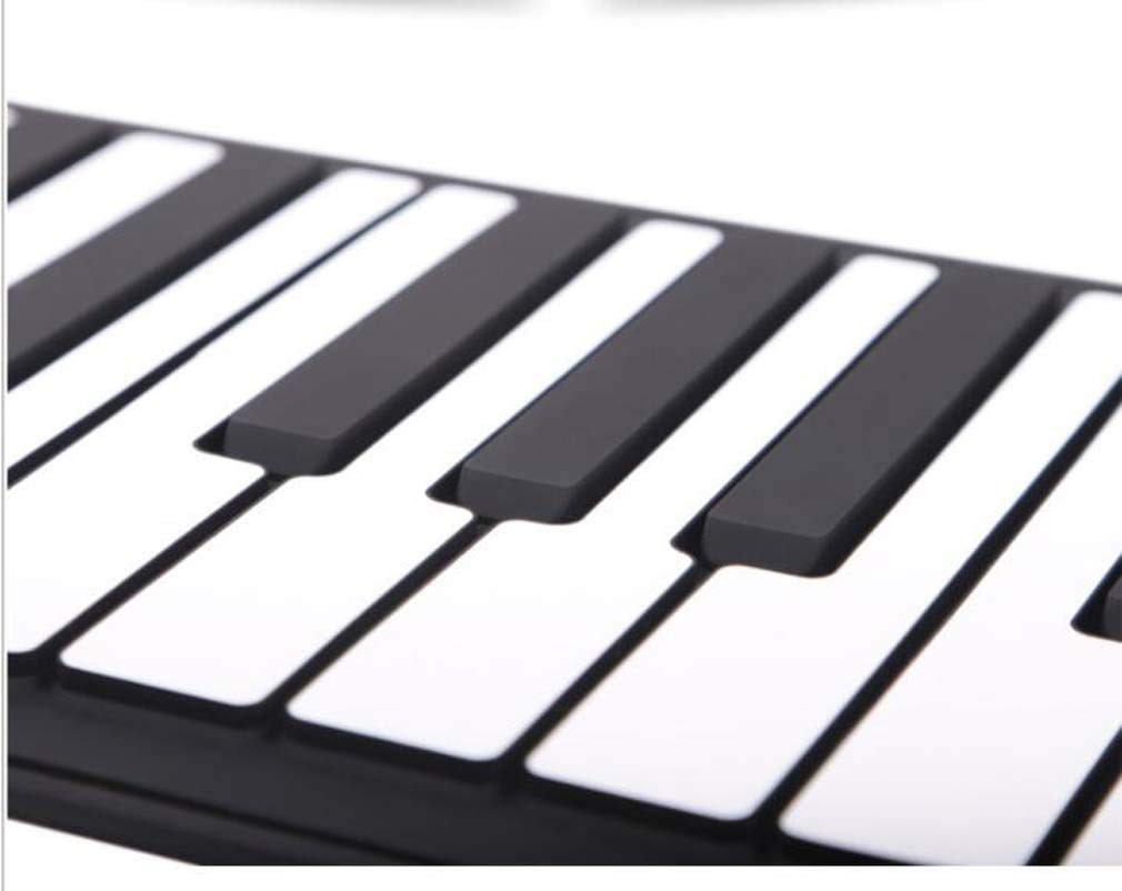 CE-LXYYD 61-Key Portable Piano with Voice-Over, Collapsible Silicone Electronic Hand roll Piano, dustproof and Waterproof, Easy to Clean, Easy to Carry, Easy to Maintain, The Best by CE-LXYYD (Image #6)