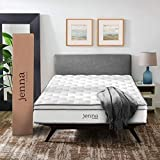 "Modway MOD-5770-WHI Jenna 10"" Queen Innerspring Mattress - Top Quality Quilted Pillow Top"