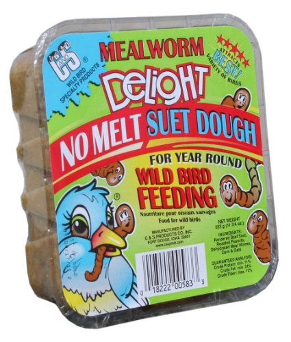 C and S Products Mealworm Delight, 12-Piece, My Pet Supplies