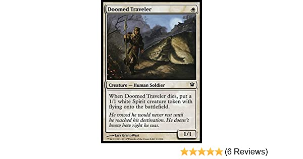 Mtg doomed traveller  x 4 great condition