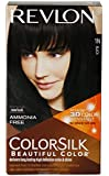 Revlon Colorsilk Hair Color with 3D Color Technology Black 1N, 100g