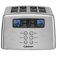 Cuisinart CPT-440C 4-Slice Touch To Toast Leverless Toaster Silver