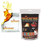 QuickFire - FireStarters Voted #1 Camping & Charcoal...
