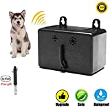 Mini Bark Control Device Outdoor Anti Barking Device Ultrasonic Dog Bark Control Sonic Bark Deterrents Silencer No Bark Trainer Stop Dog Barking Bark Stop Repeller Safety, Friendly(2018 Upgraded)