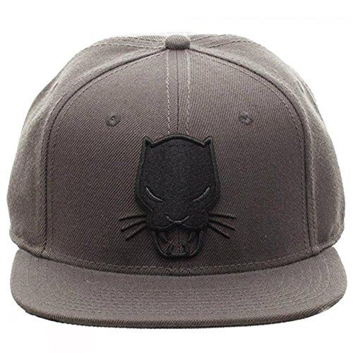 30e773783 Marvel Comics Black Panther Grey Snapback
