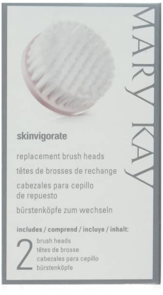Amazon.com : Mary Kay Skinvigorate Set of 2 Replacement Brush Heads by N/A : Beauty