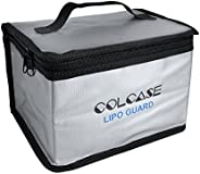 COLCASE Fireproof Explosionproof Lipo Safe Bag for Lipo Battery Storage and Charging , Large Space Highly Stur