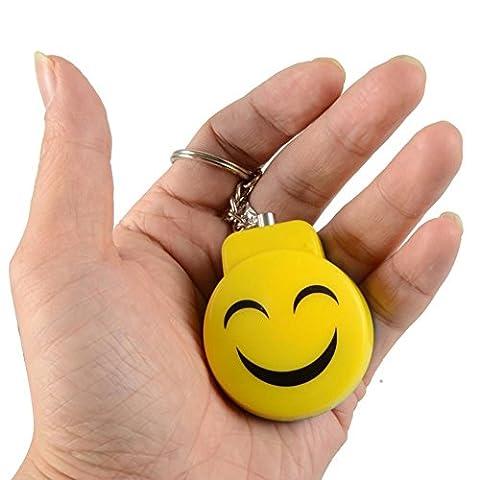 Smile Bomb Personal Panic Alarm Anti-Rape Anti-Attack Safety self-defense Electronic Alarm (Bomb Panic)