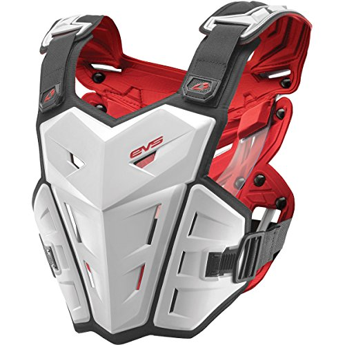 EVS F1 Adult Off-Road Motorcycle Chest Protector - White/Large/X-Large by EVS Sports