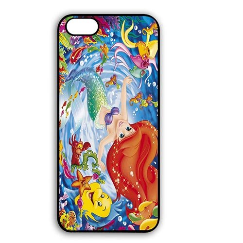 Coque,the Little Mermaid Emma Watson Design Phone Shell Case Covers for Coque iphone 6 4.7 pouce Skin Cover With Best Plastic - Cool Coque iphone 6 Phone Case Cover for Boys
