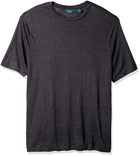 Perry Ellis Solid Linen T Shirt