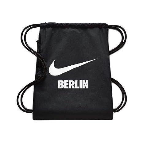 Nike Ba5851 2018 El Gimnasio Para De Cuerdas Bolsa 45 CmNegro EW2DH9I