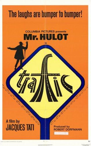 Traffic Poster Movie Jacques Tati Maria Kimberly Marcel Fraval