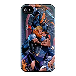 Shockproof Hard Cell-phone Case For Iphone 6 (Wjr6950aSpR) Customized Attractive Deathstroke I4 Series