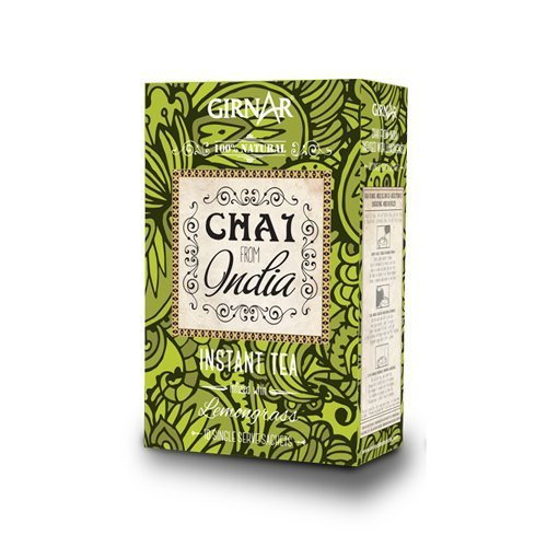GIRNAR - CHAI DE LA INDIA CON LEMONGRASS 100% NATURAL, SIN LECHE - 100GR
