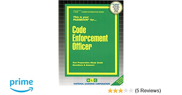Code enforcement officerpassbooks c 3424 jack rudman code enforcement officerpassbooks c 3424 jack rudman 9780837334240 amazon books fandeluxe Gallery