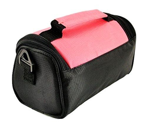 Púrpura TGC amp; Bolso Mujer al Pink Baby Eléctrica Negro Black para Hombro cwFO07qwT