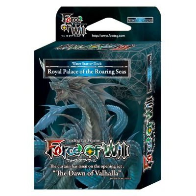 Force of Will FOW S1 Starter Deck - BLUE - Royal Palace fo the Roaring Seas - 50 cards