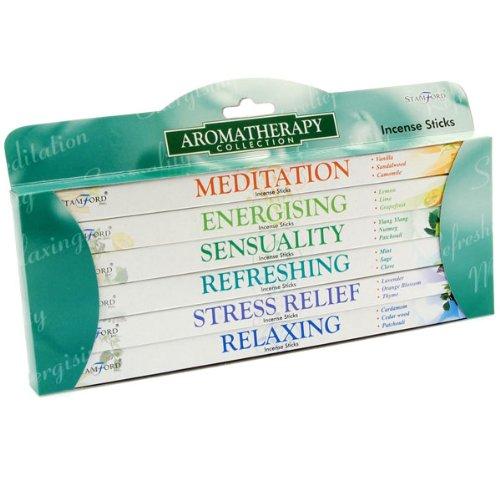 Stamford Incense Sticks 6 Pack Gift Set - Aromatherapy - Stamford Shopping