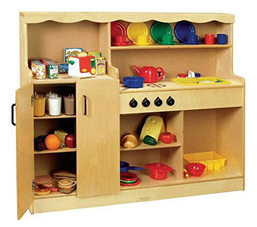 Childcraft 4-in-1 Kitchen, 47-3/4 x 13-3/4 x 40 Inches ()