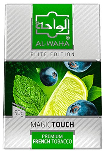 Al Waha Elite Edition Shisha Molasses Premium Flavors 100g for Hookah (Magic Touch) by Standpoint
