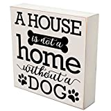 A house is not a home without a dog gifts for dog cat Pet Lover gift box Birthday gifts for pets 6x6 by DaySpring Milestones (A house is not a home)