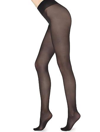Calzedonia Femme Collant en Microfibre Légère Semi-opaque 30 Deniers  Toucher Doux d7f9c6012fa