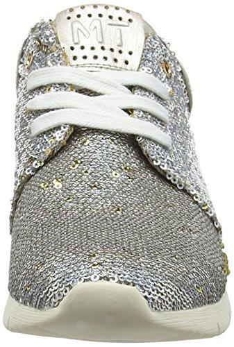 Argento 948 Marco silver Comb Scarpe 23701 Basse Donna Da Ginnastica Tozzi qv0qC