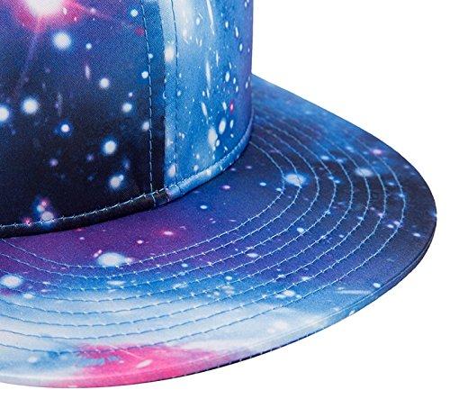 Azul Trucker plana visera Gorra Sombrer Wuke Solar Hip Baile 3D de Unisex Hop con Verano Impreso Protección qZw1X1P