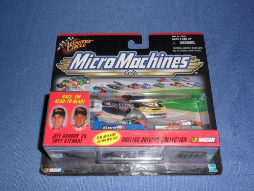 1999-nascar-winners-circle-micro-machines-jeff-gordon-vs-tony-stewart-dueling-drivers-collection