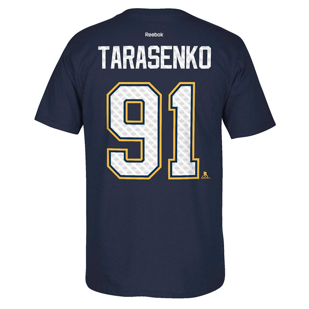 brand new 55c53 83822 Vladimir Tarasenko Reebok St. Louis Blues Tri-Matrix Jersey Navy T-Shirt  Men's