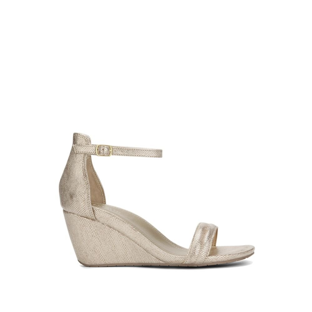 Kenneth Cole Reaction 2 Cake Shop Wedge Sandal - Women's - Soft Gold