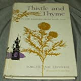img - for THISTLE AND THYME - Tales and Legends from Scotland book / textbook / text book