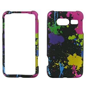 Colorful Paint Splatter Hard Case Cover for Huawei Activa 4G M920