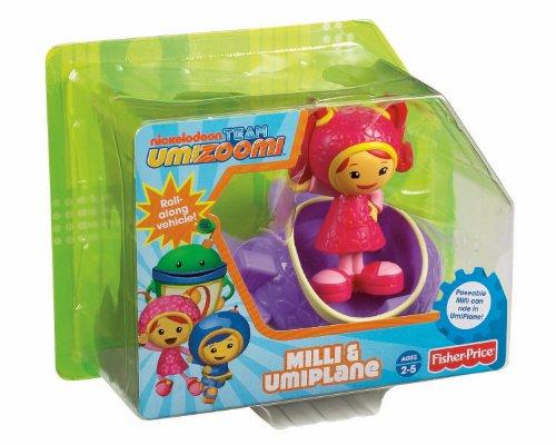 Nickelodeon Fisher-Price Team Umizoomi Milli and UmiPlane
