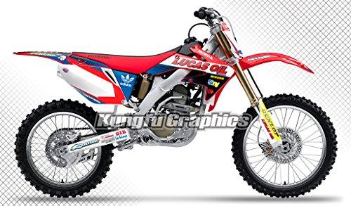 Kungfu Graphics Lucas Oil Custom Decal Kit for Honda CRF250R