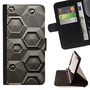 Momo Phone Case / Flip Funda de Cuero Case Cover - Tiza macroscópica Microscopio - LG G4c Curve H522Y (G4 MINI), NOT FOR LG G4