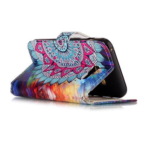 2017 A3 Rabat Galaxy Etui Uposao Samsung Galaxy Magnétique A3 à 2017 Cover de Galaxy Protection A3 Coque A3 Flip Housse Cuir Ultra Housse Etui 2017 Housse Coque Pure Mandala Mince Case Galaxy 2017 Slim Coque HwxYtppq