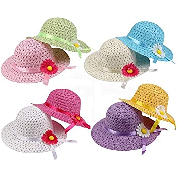 Girl/'s Tea Party Dress Up Hat Blue Costume Beach Bitrthday Supplies HALLOWEEN
