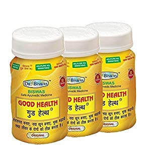Dr. Biswas Good Health 50 Capsules (Pack of 3)