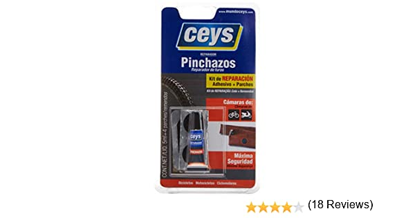 CEYS 505016 Adhesivo reparador pinchazos, Azul, 0: Amazon.es ...