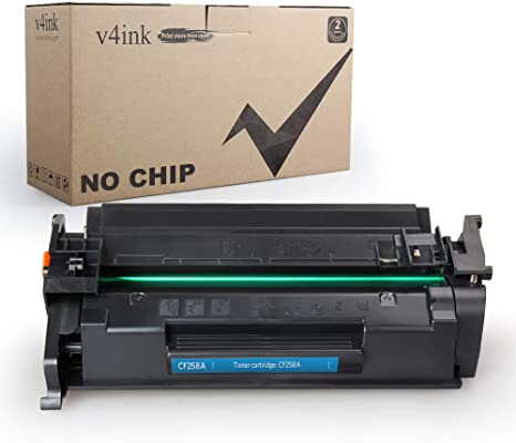 v4ink - Cartucho de tóner Compatible HP 58A CF258A, para ...