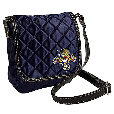 NHL Florida Panthers Quilted (Little Earth License Plate Purse)