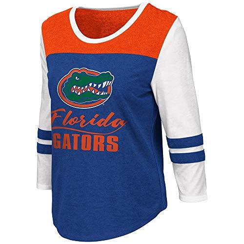 - Colosseum Womens Florida Gators Palermo 3/4 Sleeve Tee Shirt - M