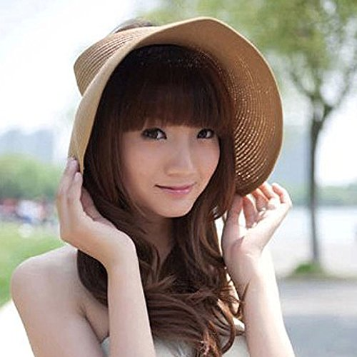 Buy beach sun hats for women foldable