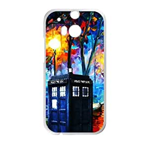 HUAH Doctor Who unique pavilion Cell Phone Case for HTC One M8