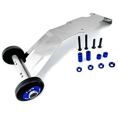 Hot Racing RVO133S06 Stainless Steel Wheelie Bar - E-Revo Revo Slayer Summit: Toys & Games